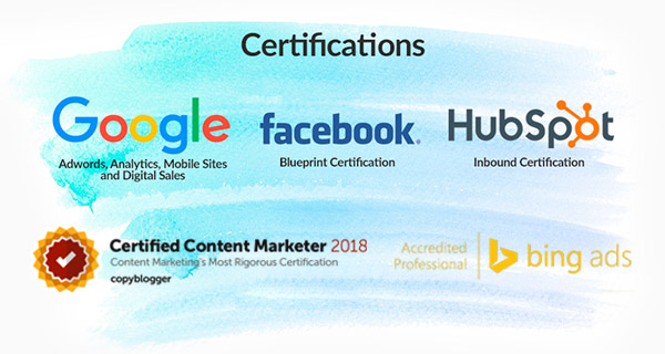 Digital Marketing Certificates