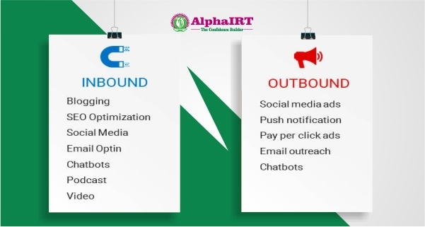 difference between inbound and outbound marketing