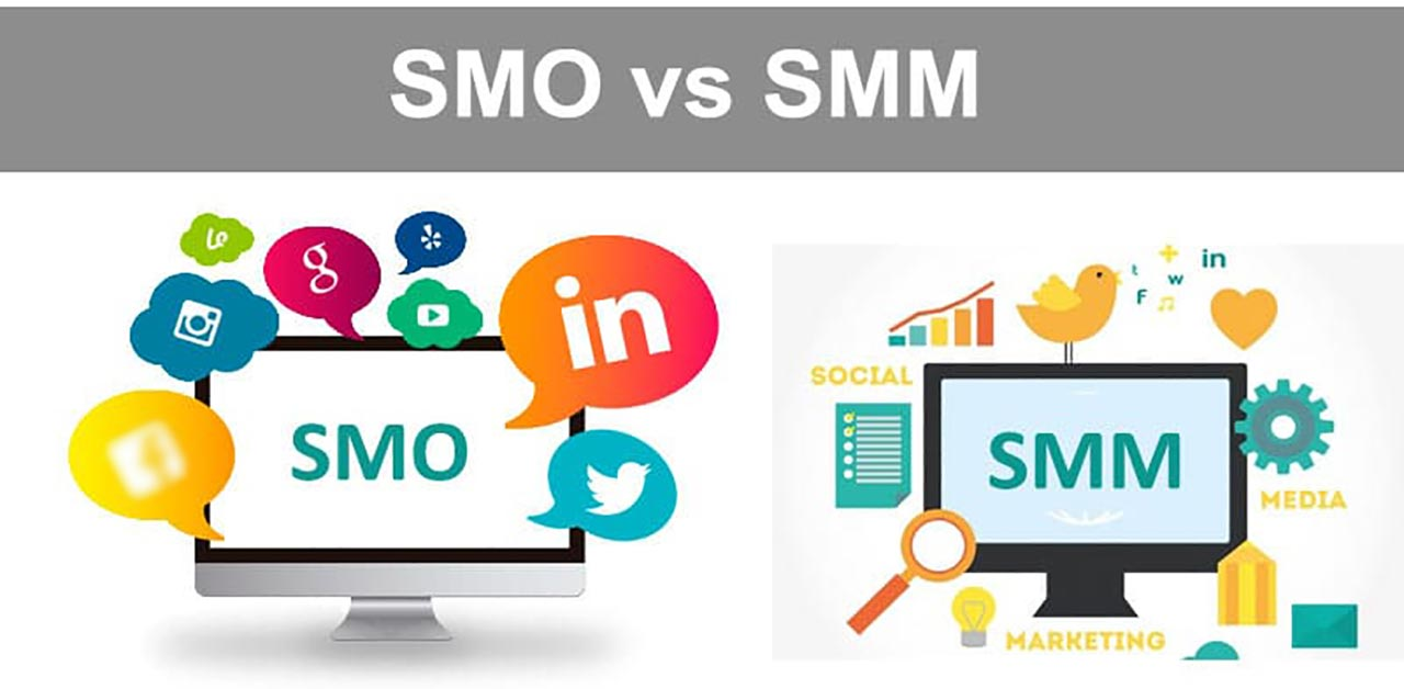 (Social Media Optimization) SMO V/S SMM (Social Media Marketing)
