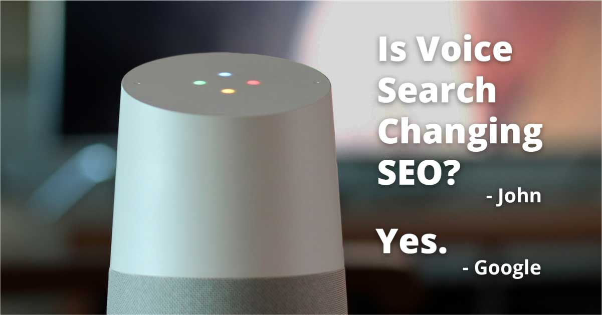 Is Voice Search Changing SEO?