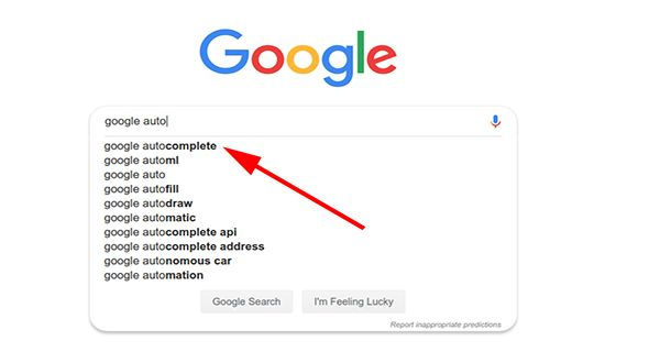 Autocomplete LSI Keyword