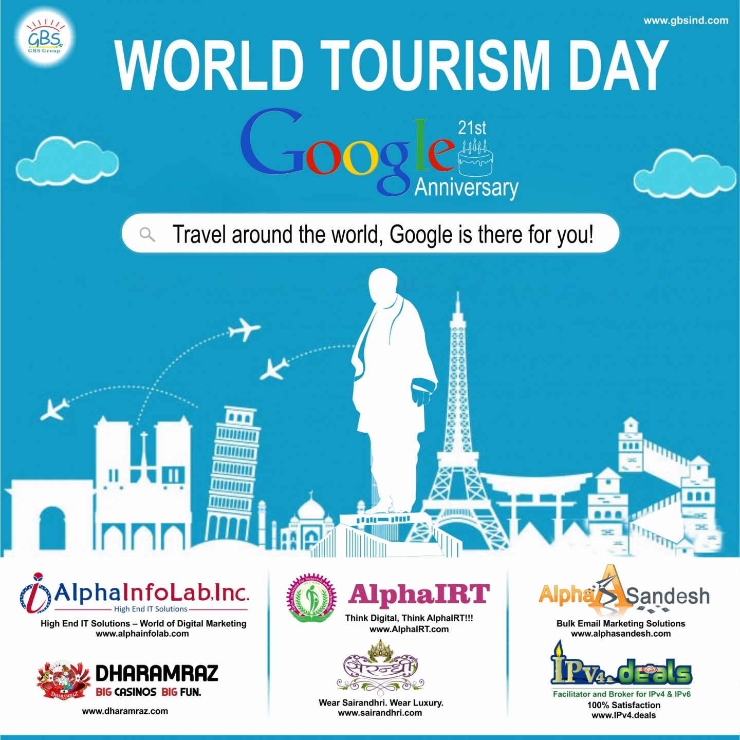 World Tourism Day | Goggle's 21st anniversary