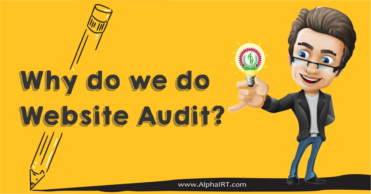 Why do we do website audit?