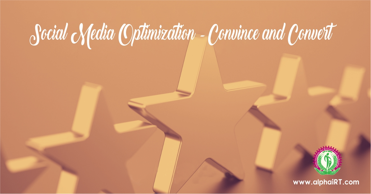 Social Media Optimization – Convince and Convert